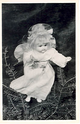 TT OFD CA TASHA TUDOR'S OLD-FASHIONED DOLLS. CHRISTMAS ANGEL. Tasha Tudor