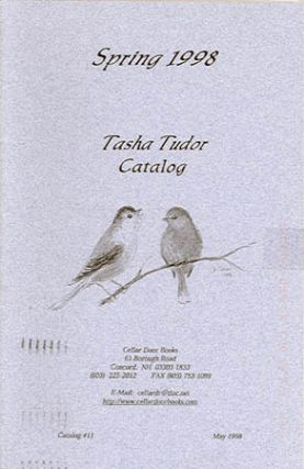SPRING 1998 TASHA TUDOR CATALOG; , Catalog #11 from Cellar Door Books. Cellar Door Books