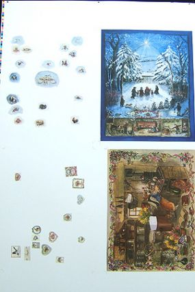 ADVENT CALENDARS PROOF SHEET. Tasha Tudor