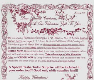 DEAR SPECIAL CUSTOMER, As Our Valentine Gift to You ...
