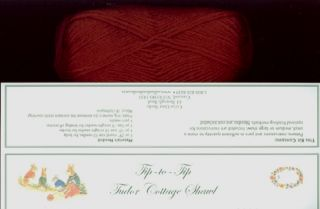 """TIP-TO-TIP"" A TUDOR COTTAGE SHAWL KIT; an exclusive of Cellar Door Books!"