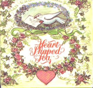 TASHA TUDOR HEART SOAP - SMALL