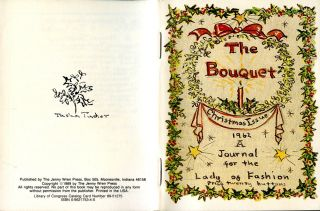The BOUQUET; CHRISTMAS ISSUE 1962. A JOURNAL FOR THE LADY OF FASHION