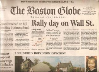 "BOSTON GLOBE 262:25 July 25, 2002 ""At home with Tasha Tudor,"" Henry Homeyer."