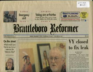 "BRATTLEBORO REFORMER 98:216 Nov 9, 2010 ""Tudor family reaches settlement,"" November 9, 2010. John Curran."