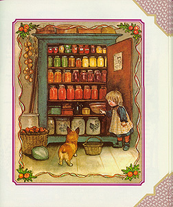 The TASHA TUDOR COOKBOOK; : RECIPES AND REMINISCENCES FROM CORGI COTTAGE