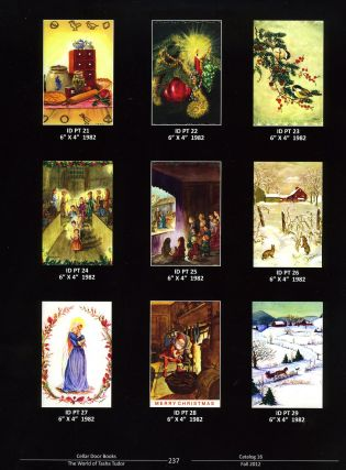 CHRISTMAS CARD DESIGNS OF TASHA TUDOR