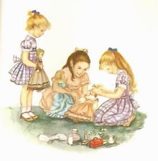 TASHA TUDOR'S SAMPLER; A Tale for Easter, Pumpkin Moonshine, The Dolls' Christmas