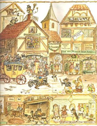 FROM TASHA TUDOR AN ADVENT CALENDAR THE DAYS BEFORE CHRISTMAS. Tasha Tudor