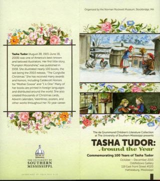 TASHA TUDOR: AROUND THE YEAR Commemorating 100 Years of Tasha Tudor. Fenimore Art Museum