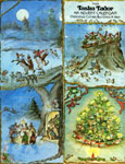 FROM TASHA TUDOR AN ADVENT CALENDAR CHRISTMAS COMES BUT ONCE A YEAR