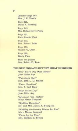 A PARTIAL LIST OF WATERCOLORS, DRAWINGS, OILS, AND PASTELS BY TASHA TUDOR; Together with the names of the owners of most of the pieces