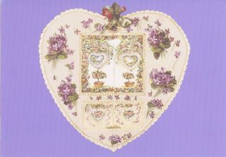 JWP CO 57a B LAVENDER HEART