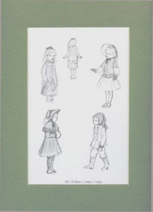 FROM TASHA TUDOR'S SKETCHBOOK: MY CHILDREN'S CLOTHES I MADE. Tasha Tudor