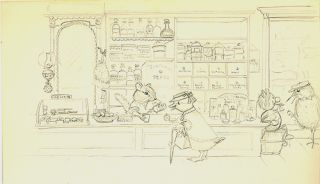 SUSSEX, PRINT 4: SHOPPING AT THE APOTHOCARY'S