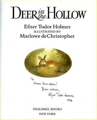 DEER IN THE HOLLOW
