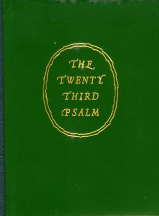TWENTY THIRD PSALM, THE [miniature]