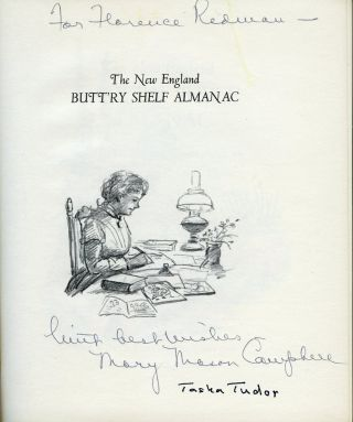 The NEW ENGLAND BUTT'RY SHELF ALMANAC; Being a Collation of Observations on New England People, Birds, Flowers . . .