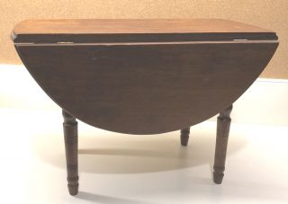 DOLL FURNITURE DROP LEAF TABLE