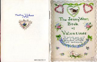 The JENNY WREN BOOK OF VALENTINES. Tasha Tudor