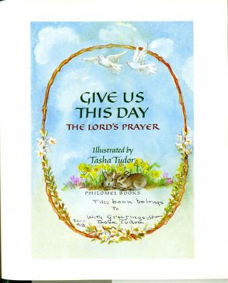 GIVE US THIS DAY, THE LORD'S PRAYER