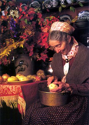 PEELING POTATOES. Richard W. Brown